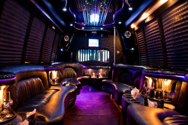 15 person party bus rental Reno