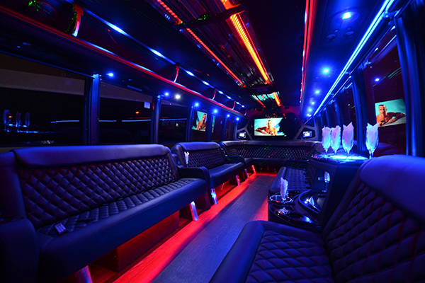 40 passenger party bus rental Reno