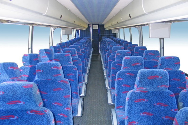 50 person charter bus rental Reno